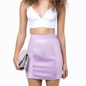 Tobi Your Addiction Lavender Skirt